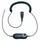 Tai nghe Call Center Jabra GN 1200 0.8mm Straight QD